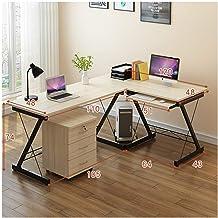 LJBH Desktop Computer Desk Home Writing Curved Writing Desk Computer desk, desk, durable and practical (Size : D)
