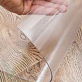 YJJ 1,5 mm Dicke transparenter Schreibtisch Protektor, rechteckig wasserdichte...