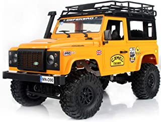 Goolsky- MN-D90K 1/12 RC Crawler Defender Racing Truck Off-Road Car para Niños Adultos DIY Play Kit Sin Receptor Controlador ESC Batería