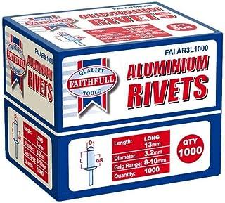 Rivetti Blinky Alluminio Scatola Pezzi 1000 Mm 4  X16
