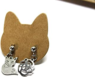Orecchini piccolo principe - Orecchini a lobo - Orecchini in acciaio - Petit Prince - Little Prince