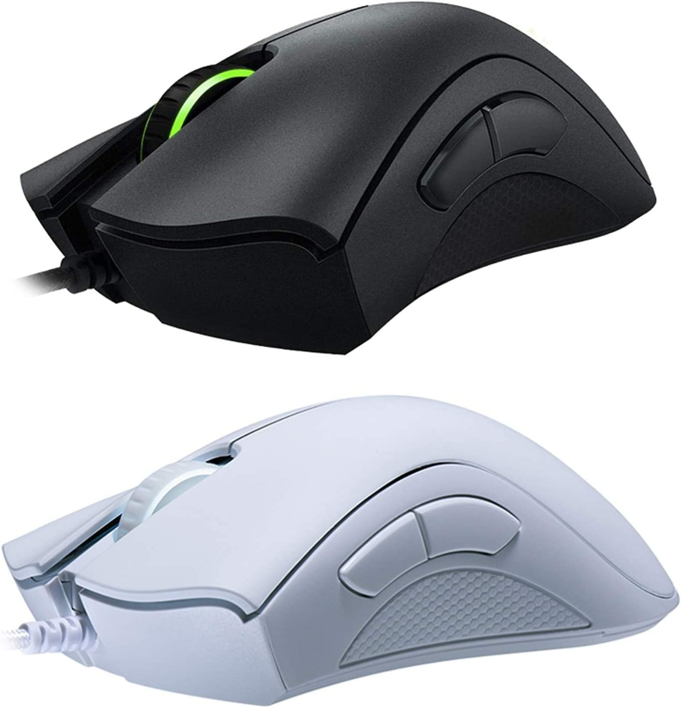 Wired Gaming Mouse Mice 6400DPI Optical Sensor 5 Independently Buttons for Laptop PC Gamer