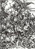Poster 50 x 70 cm: Die Vier apokalyptischen Reiter von