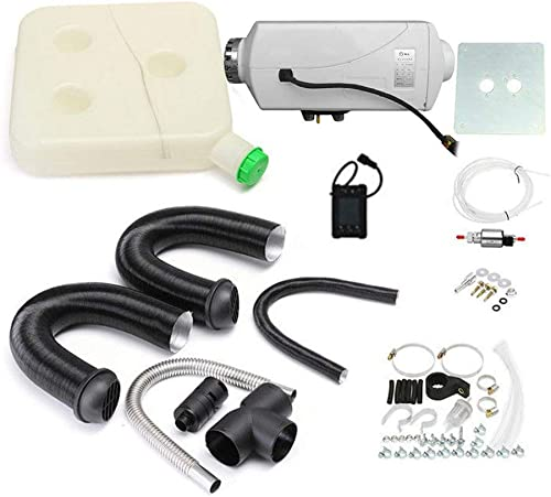 comprar ahora Sunnyday Interruptor de un un un Orificio de Calentador de Aire de 12 V 3KW con silenciador Universal para ventilación de Tanque  mejor calidad mejor precio