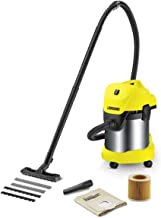 Karcher WD 3 Premium Bagless Wet and Dry Multi-Purpose Vacuum Cleaner - 1000W, 16298460, Multi Color