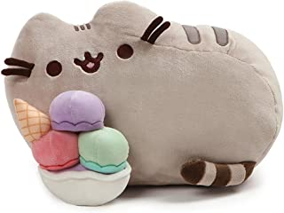 Gato Pusheen - Pelúcia Pusheen Sorvete Sunday 25cms Gund