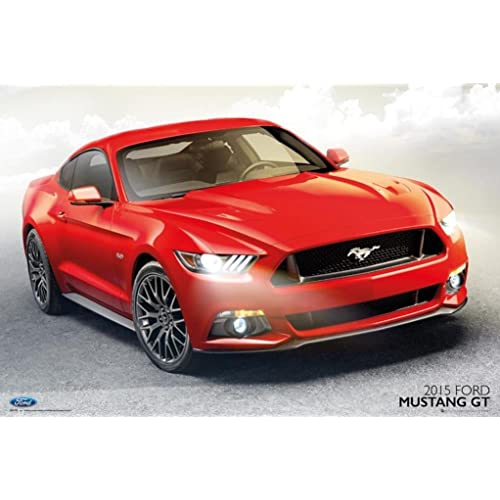 Ford Shelby Gt  Photo Art Print Poster X