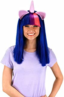 elope Twilight Sparkle Costume Wig with Ears