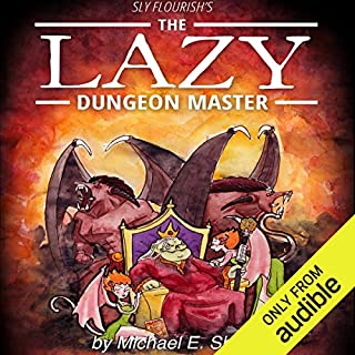 Sly Flourish's The Lazy Dungeon Master audiobook cover art