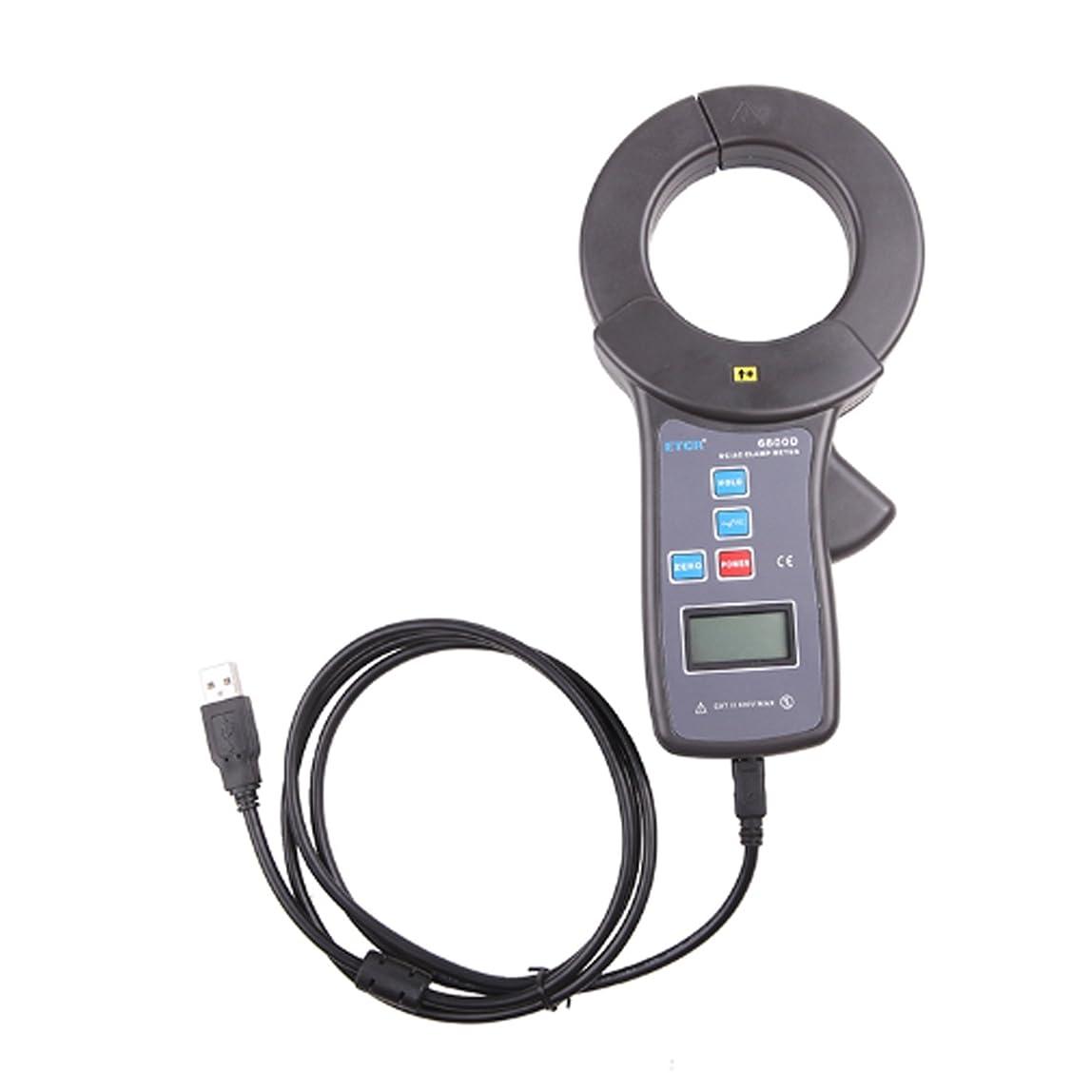 再生的区溶接測定器の精度 クランプ電流計DC/AC電流測定範囲DC 0.0A?2000A、AC 0.0A?1500A、ジョーサイズ直径68mm USBインターフェース付きデータアップロード機能データ保存99グループETCR6800D