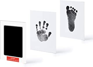 Newborn Baby Hand & Footprint ''Clean-Touch'' Ink Pad, Black, by Kubai