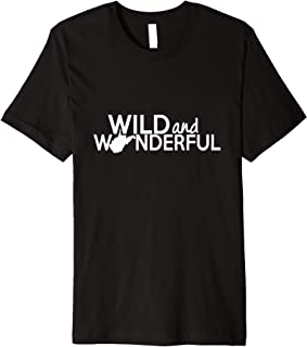 Wild and Wonderful West Virginia with State Premium T-Shirt