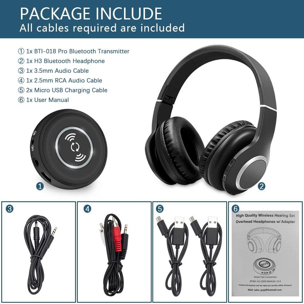 Golvery Wireless Headphones for TV