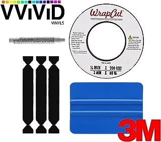 3M Vinyl Wrap tool kit with precision 200ft wrap cut tape