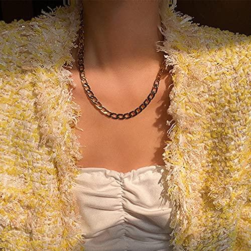 Collar de Cadena Larga de diseñoPunk de múltiples Capas con Colgante de Cruz de Moneda de Bola de Metal de Modapara Regalos de joyería de Mujer
