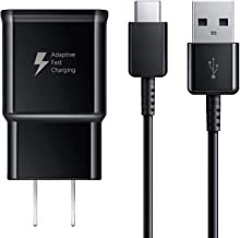 Samsung Galaxy Fast Charger Adaptive Fast Charger Compatible Samsung Galaxy S9 S9 Plus S8 S8+ S10 S10e Ny S9 S9 Plus S8 S8+ S10 S10e Note 8 Note 9, Wall Charger Adapter Block with USB Type C Cable Kit