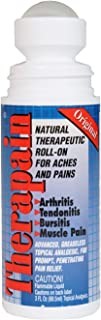 Original Therapain - Extra Strength Natural Pain Relief - Topical Therapeutic Roll-On Penetrates Better Than Cream & Gel Analgesics - Use On Arthritis, Joint Pain, Sprains, Strains and Muscle Aches