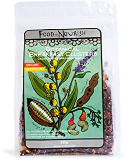 Food to Nourish Wattleseed Cacao Clusters, 250 g