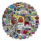 Ruluti 100pcs / Pack ¡ Juego Graffiti Pegatinas para Portátil del Cuaderno De Dibujos Animados Toy Motocicleta Monopatín Ordenadores Consigna Decal