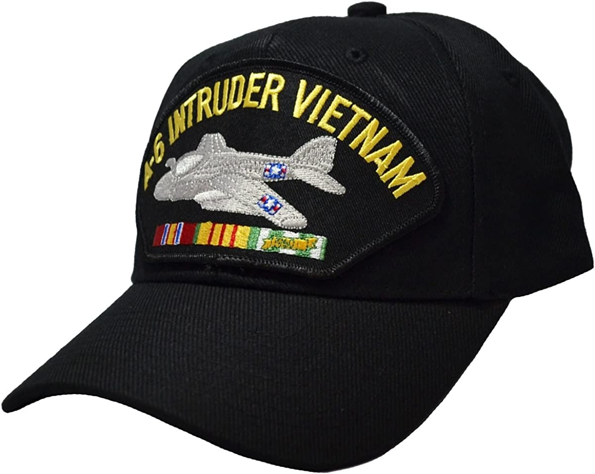 Free shipping Military Productions A-6 Intruder Cap War Vietnam Black Animer and price revision