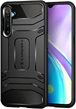 KAPAVER® Realme X2 / Realme XT Rugged Back Cover Case MIL-STD 810G Officially Drop Tested Solid Black Shock Proof Slim Armor for Realme XT / X2 Patent Design (Only for Real me XT/Realme X2)