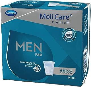 MoliCare Premium MEN PAD 2 compresa para hombre Paquete 14