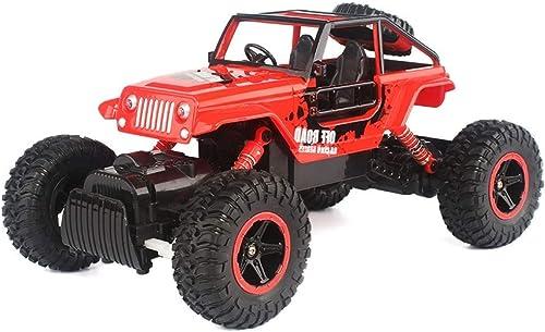 IBalody Größe Fernbedienung Gel ewagen Allradantrieb Lade High-Speed Klettern Größe Fu C Rennwagen Kinder Spielzeugauto Geschenk für Kinder 6+ (Farbe   rot)