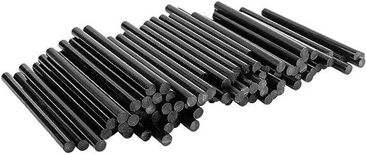 Universele lijmpatronen voor hete lijmpistolen | hete lijmsticks | Ø 7 mm | 10 cm lang | 100 stuks (zwart)