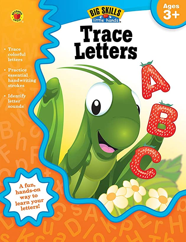 Trace Letters Workbook, Grades Preschool - K (Big Skills for Little Hands?)