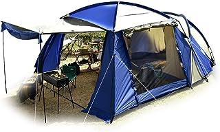 タンスのゲン ENDLESS BASE 2ルームテント 幅340cm 4人用~6人用 キャンプテント 耐水 UVカット キャノピーポール付 44400010