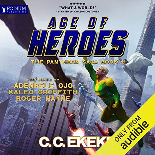 Age of Heroes audiobook cover art
