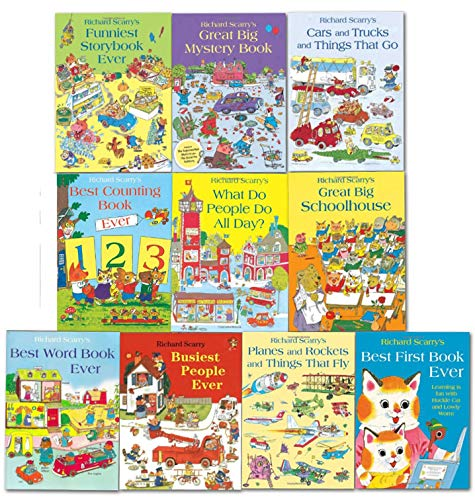 Richard Scarry's Best Collection Ever! 10 books collection. What do people do all day?... and other stories.