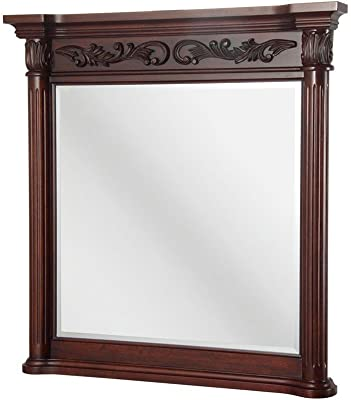 Amazon.com: SBC Decor Jardine Circle Window Pane Wall Mirror ...