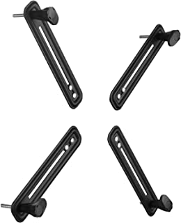 WALI VESA Mount Bracket Adapter Monitor Arm Mounting Kit for Screen 13 to 27 inch, VESA 75mm and 100mm (UVVEP)