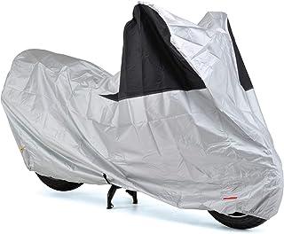 【Amazon.co.jp限定】DAYTONA(デイトナ) バイクカバー シルバー LL 97973 防水 風飛び防止 前後が分かる配色