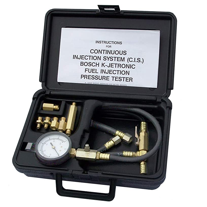 Tool Aid 33865 C.I.S. K-Jetronic Fuel Injection Tester with Case (TA 33865)