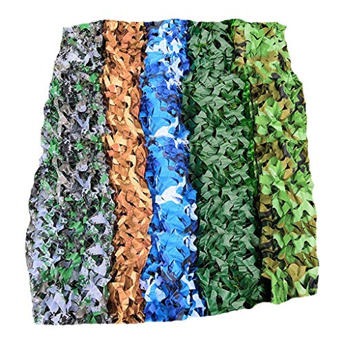 Luifel jungle Digital Desert Marine Pure Green Tarnnet Outdoor Camo Netting voor Camping Military Hide Fotografie Slaapkamer Decoratie Speel Hotel 2x3m, 3x4m, 4x5m, 4x6m, 6x6m, 6x8m