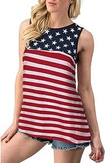 HOSOME Women Summer Casual Sleeveless Short Long Sleeve Gradient Contrast Color Print Vest Tops Blouse Sweatshirt