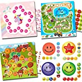Set de recompensa y cuenta atrás para niños (unicornio, dinosaurios, granero) + 216 Emojis (3F9FVS)