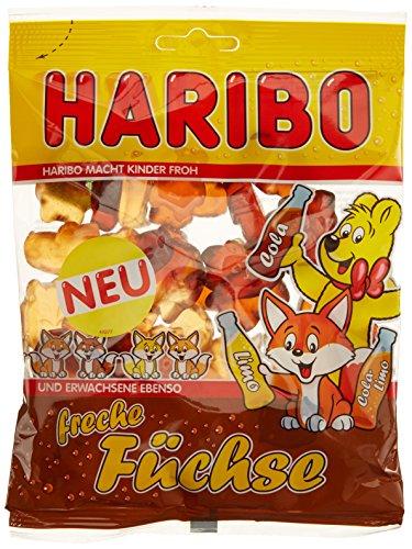 HARIBO Freche Füchse -Beutel, 15er Pack (15 x 200 g)