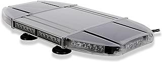 Aviator TIR Emergency 3 watt Low Profile Magnetic Roof Mount Mini LED Light Bar 18 in (Amber/White)
