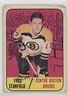 Fred Stanfield Ungraded COMC Poor (Hockey Card) 1967-68 Topps - [Base] #36