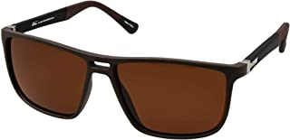 نظارات بنمط رترو 5027 C:3 للرجال لون اسود (لون واحد)، (مستقطبة)