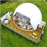 LFDHSF Großes Zelt-transparente aufblasbare Blasen-Campingzelt-Reise-Gastfamilie im Freien