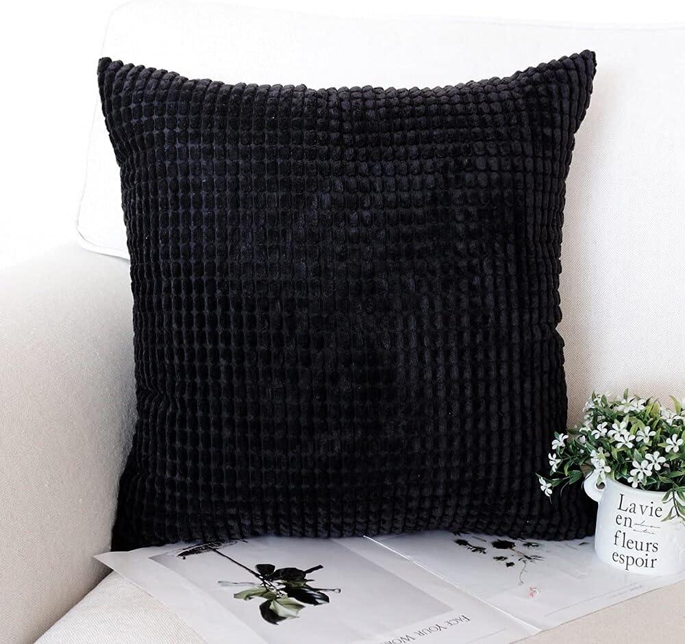 Striped Decorative Challenge the lowest price Pillowcase Soft Alternative dealer Corduroy Cus Hug Style Nordic