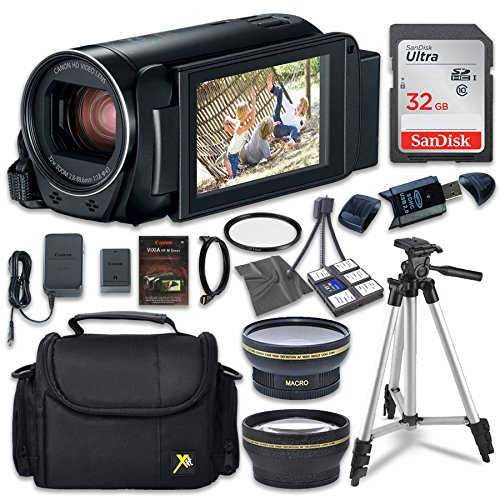 Canon VIXIA HF R800 Camcorder with Sandisk 32 GB...