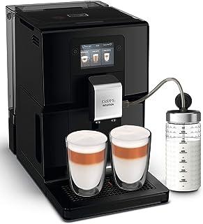 Krups EA8738 Intuition Preference automatyczny ekspres do kawy z pojemnikiem na mleko, kolorowy ekran dotykowy podobny do ...