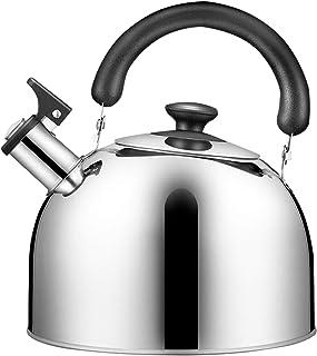 SQL Teahouse Cafe Bouilloire en Acier Inoxydable Bouilloire Special Sounding Sounding Grand Capacité Bouilloire Induction ...