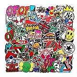 Cool Stickers Pack 101 pegatinas de moda para ordenador portátil motocicleta bicicleta monopatín equipaje calcomanía graffiti parches pegatinas