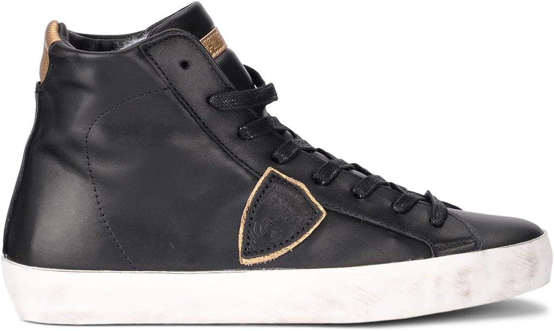 MÖJLIG modeLL kvinna's Modello Paris svart and guld guld guld läder High skor  klassisk stil
